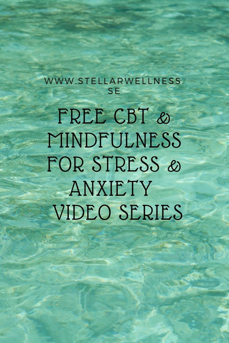 free cbt mini video series