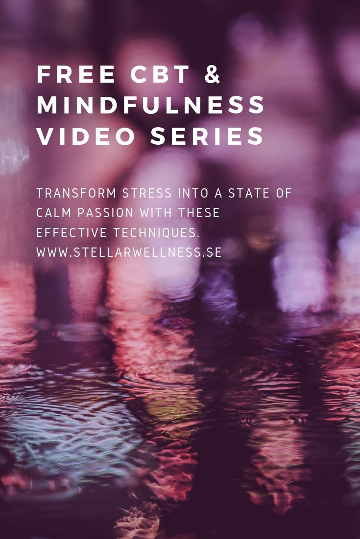 FREE CBT & MINDFULNESS VIDEO SERIES (1)